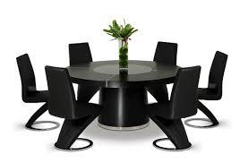 mesmerizing modern black dining room table photo decoration ideas