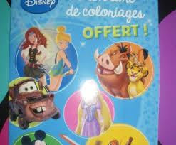 Livre coloriage Disney offert chez Auchan   Mes échantillons Gratuits