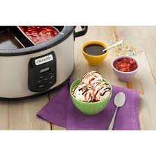 crock pot choose a crock slow cooker stainless steel at crock