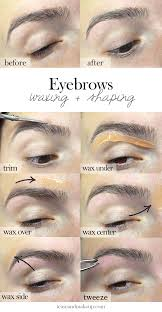 eyebrow waxing gigi wax eyebrow wax and waxing eyebrows