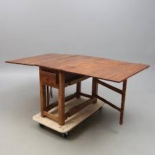 Drop Leaf Oak Table Antique Swedish Drop Leaf Oak Table For Sale At Pamono