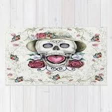 Skull Area Rug Melody Cortes Lovelymelody80 On Pinterest