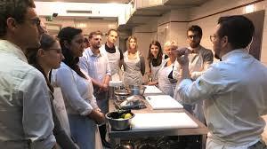 cours de cuisine chef serie gastronomie à ou en banlieue la pour les