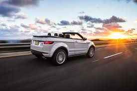 mini land rover 2017 range rover evoque convertible first test motor trend