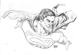 superman fly sketch by edtadeo on deviantart