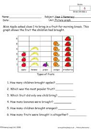 primaryleap co uk picture graphs 1 worksheet