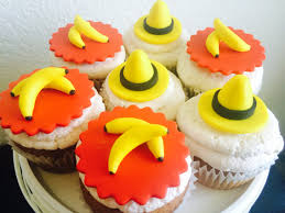 curious george cupcakes curious george cupcakes in the yellow hat cupcakes banana