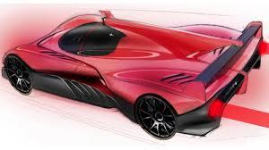 ferrari p4 5 lmp first design sketches car body design