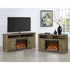 60 Inch Tv Stand With Electric Fireplace Amazon Com Altra Furniture Farmington 60
