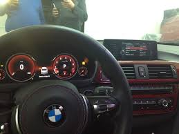 bmw 5 series dashboard bmw f30 3 series spotted in the wild wearing fully digital