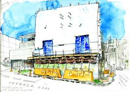 the intensification of auckland urban sketchers