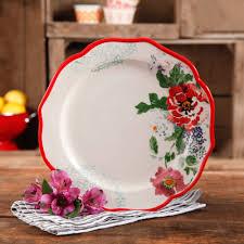 the pioneer woman vintage bloom 12 piece decorated dinnerware set
