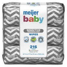 Meijer Home Decor Meijer Baby 3x Sensitive Fragrance Free Baby Wipes 3 Convenient