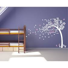 Nursery Name Wall Decals by Nursery Tree Wall Decal With Customized Name Wall Sticker