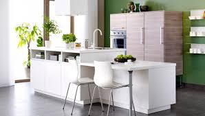 cuisine avec ilot bar ikea cuisine blanche avec îlot bar photo 5 12 autre mode du