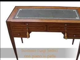 scrivanie stile antico scrittoio scrivania classica in stile antiquariato con piano in