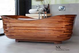Bathtub Price Wooden Bathtubs A Delight For The Senses And Your Home Decor