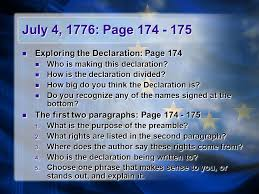 the revolutionary war a war for independence textbook pages ppt
