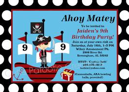 pirate birthday invitations ideas best invitations card ideas