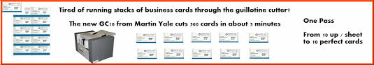 yale business card yale business card cutter gc10