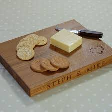 cheese board engraved rectangle personalised wooden cheese boards the oak chopping