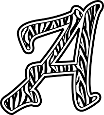 zebra print clipart clip art library