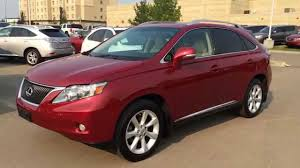 lexus rx 350 used for sale toronto lexus certified pre owned red on parchment 2011 rx 350 awd touring