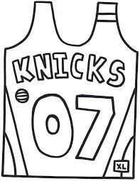 blank football jersey coloring page coloring home