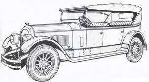 1924 marmon classic car coloring pages art cars