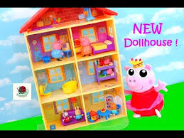 new peppa pig lights sounds family home from jazwares by