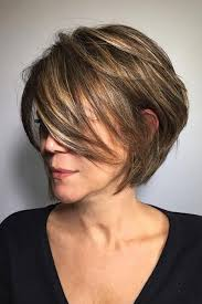 hairstyle for older women short style in warm mahogany the best short haircuts for older women southern living