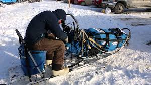 the parts of an iditarod racing sled youtube