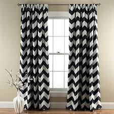 Curtains And Drapes Amazon Black And White Curtains For Living Room Amazon Com