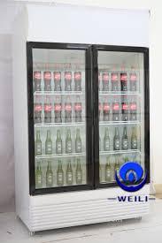 glass door coolers for sale double glass door refrigerant gas price fridge refrigerator r134a