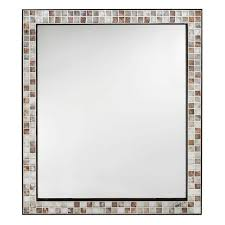 home decorators collection briscoe 28 in w x 33 in l wall mirror