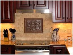 Decorative Tiles For Kitchen - decorative tile inserts kitchen backsplash like the neutral subway