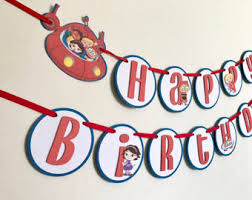 nella princess knight birthday banner nella princess