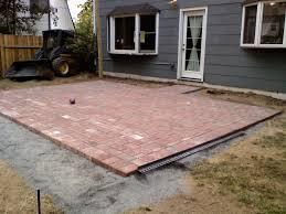 Red Brick Patio Pavers by Fire Pits Design Fabulous Brick Patio Construction Plans Paver