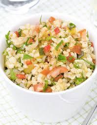 cuisiner le saumon salade de boulgour au saumon fume recette salade boulgour facile