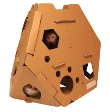 Cat Scratcher Cardboard Cat House Cat Scratcher Play House Could Be More