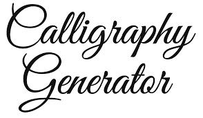 free calligraphy generator windows mac rapid