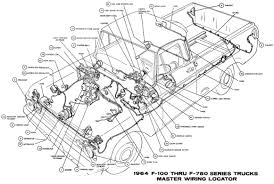 1964 ford truck f 100 wiring diagrams
