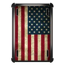 Usa Flag History Otterbox Defender For Ipad Air Mini 1 2 3 4 Red White Blue Usa