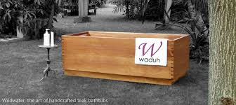 Wood Bathtubs Teak Wooden Bathtubs