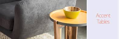 Contemporary Accent Table Mix And Match Modern Accent Tables To Complement One Another