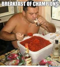 Breakfast Meme - breakfast of chions by rayyzo meme center