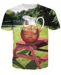 Mr T Meme - summer style women men 3d tee shirt mr t ice t with ice cubes t