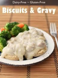 gluten and dairy free thanksgiving recipes cream biscuits and cauliflower gravy dairy free gluten free