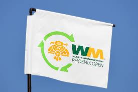 Phoenix Arizona Flag Waste Management Phoenix Open In Scottsdale Az