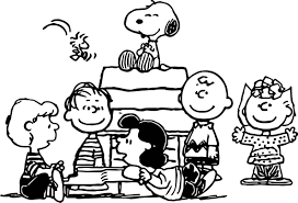 Snoopy Flags Snoopy And Peanuts Characters Coloring Page Wecoloringpage